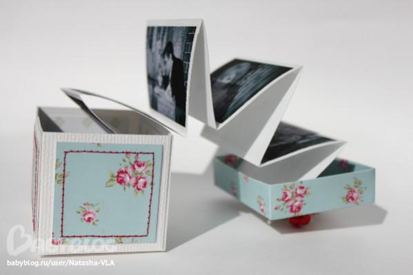 Коробочки с фотографиями своими руками
