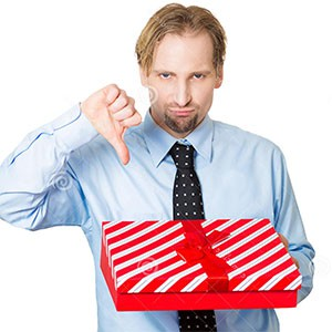 Плохой подарок для мужчины