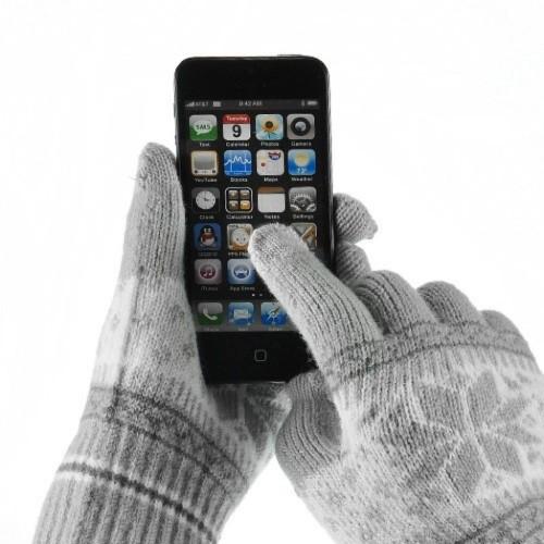 стильные сенсорные перчатки