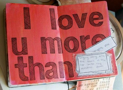 маленькие записочки я люблю тебя больше чем