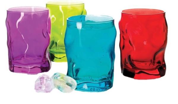 набор стильных современных стаканов