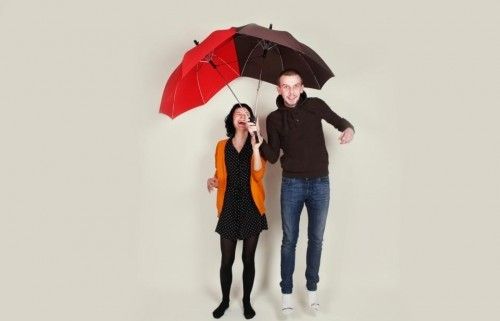 парный зонт