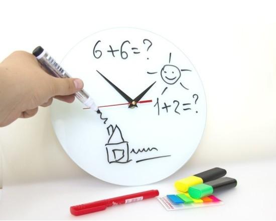 настенные часы «Нарисуй сам»