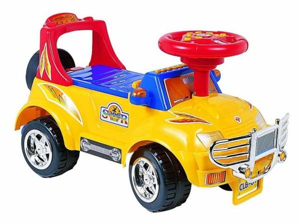 Желтая машинка для ребенка 1 - 2 года