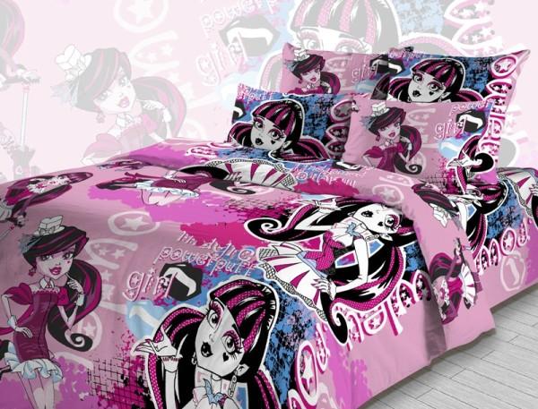 оригинальное постельное белье для девочки