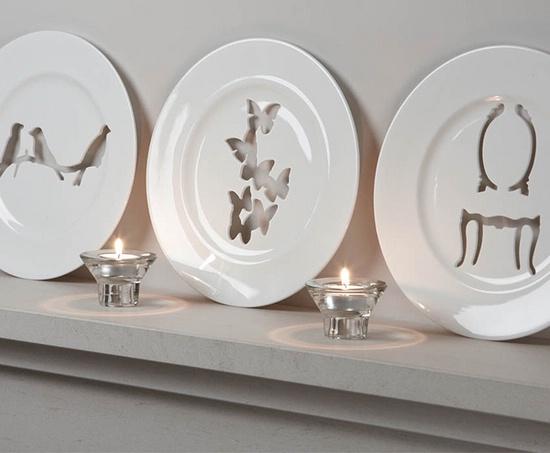 роскошные декоративные тарелки
