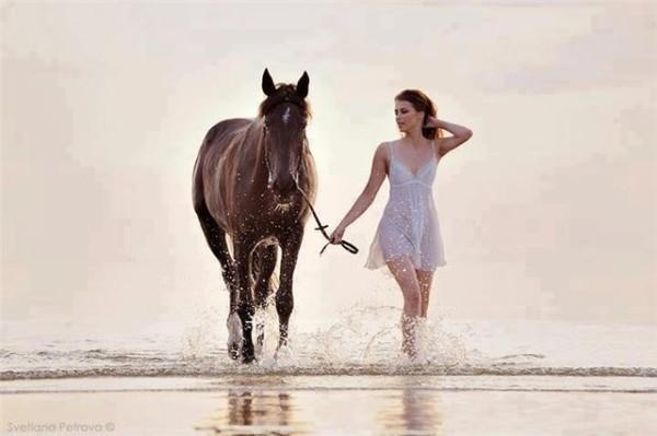 прогулку на лошади