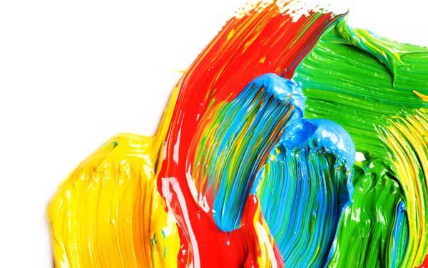 Краски для картины