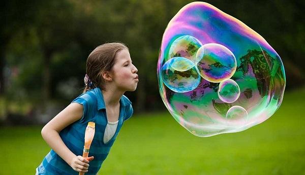 набор для гигантских мыльных пузырей
