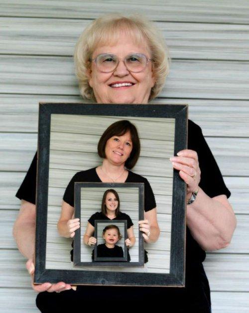 Оригинальная семейная фотография