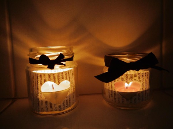 Романтичные красивые подсвечники ручной работы