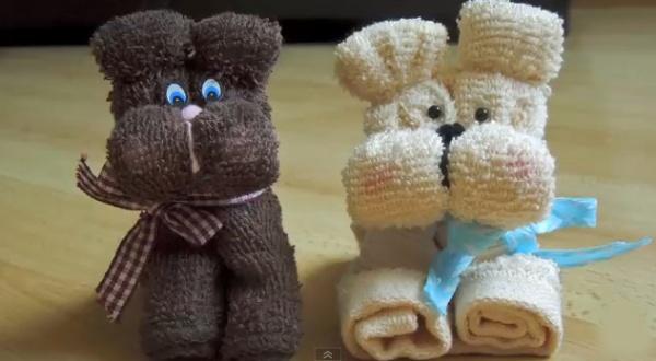 мягкие детские полотенца