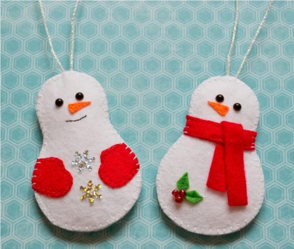 забавные снеговики своими руками