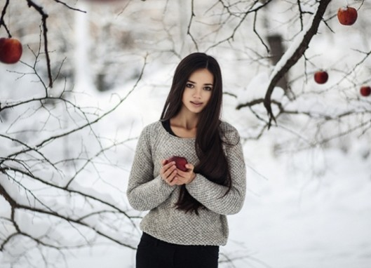 фото-сессия девушки