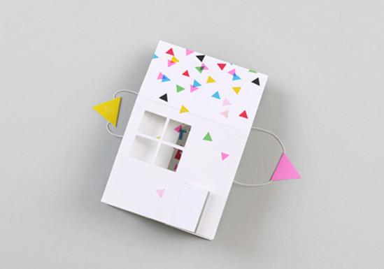 Открытка-домик из бумаги своими руками