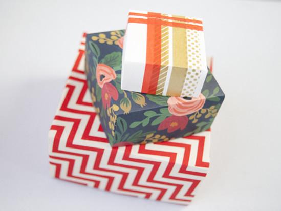 Красивая коробочка из бумаги своими руками