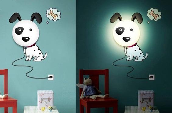 ночник собака для детской