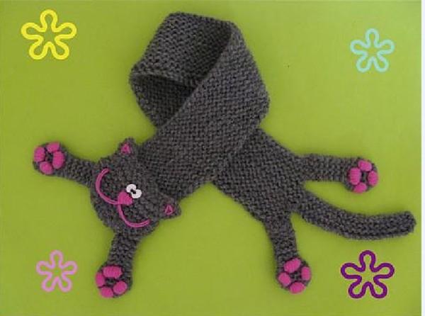 креативный шарф