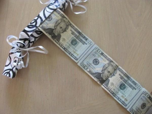 Фокус с деньгами
