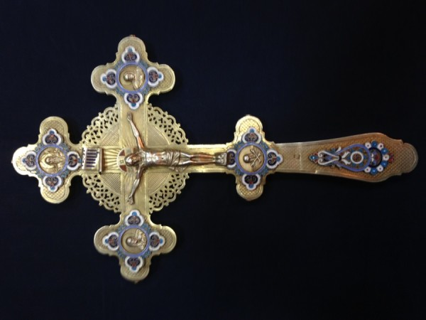 Крест на крещение