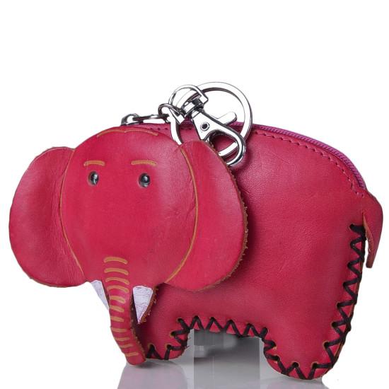 Женская стильная ключница в виде слона