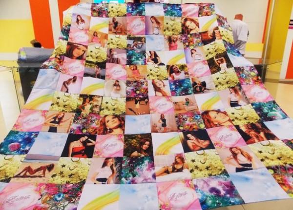 лоскутное одеяло с фотографиями