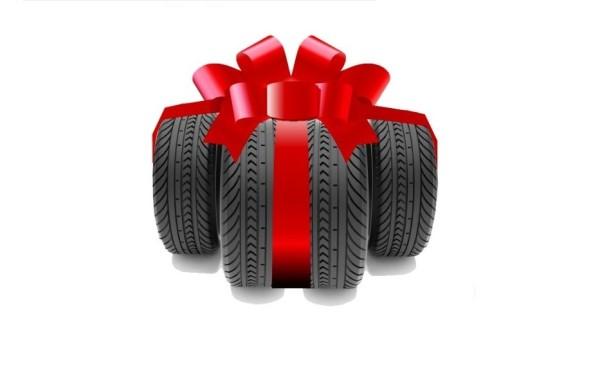комплект шин в подарок