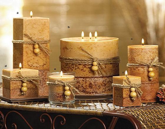 набор свечей для дома
