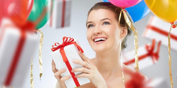 Жена – именинница. Выбираем незабываемый подарок второй половинке!