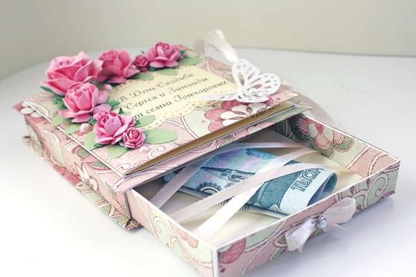 Красивый подарок деньгами