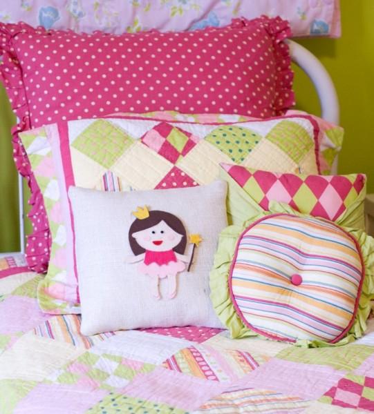 подушка для девочки своими руками