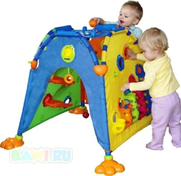 развивающая детская палатка