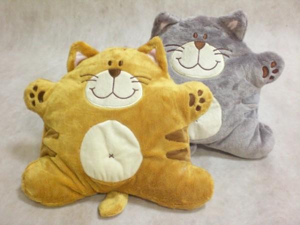 Необычная подушка кот своими руками