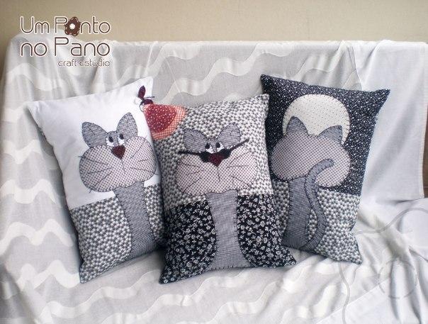 дизайнерские подушки для интерьера