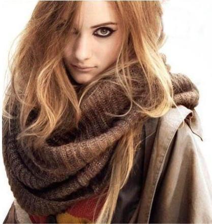 красивый шарфик