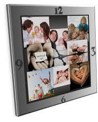 настенные часики с семейными фото