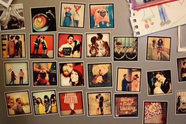 фото-магниты на холодильник
