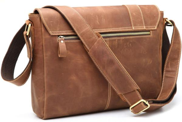 мужская сумка из кожи