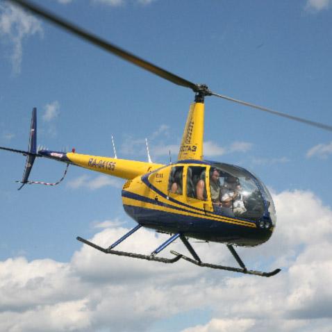 урок пилотирования вертолетом