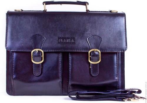 портфель из натуральной кожи