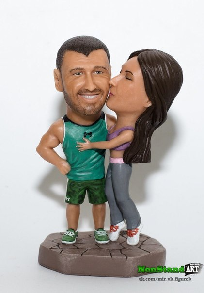 статуэтку мужа  и жены по фото
