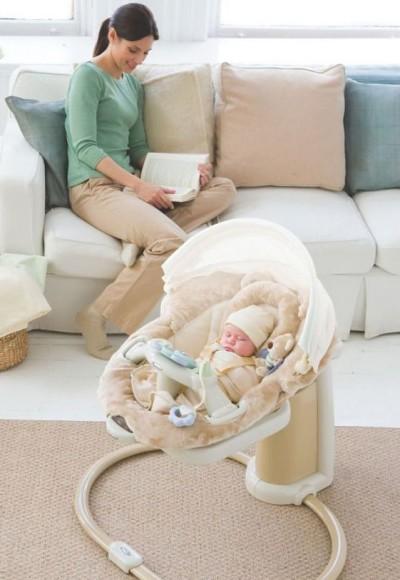 кресло-качели для младенца
