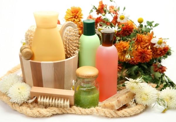 Натуральная косметика для ухода за волосами или кожей