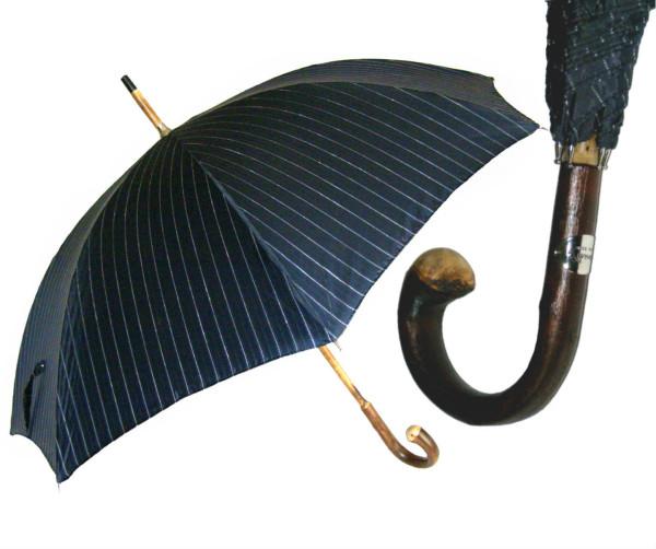 солидный мужской зонт