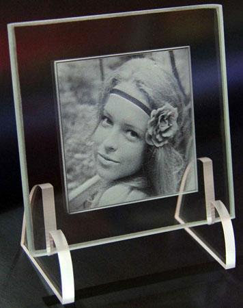 фотопортрет в стекле