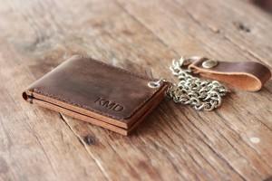 Кожаные бумажники своими руками