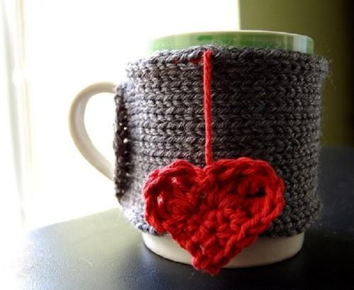 Теплый чехол для папиной любимой чашки
