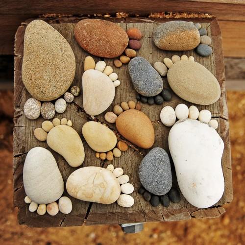 камни ноги