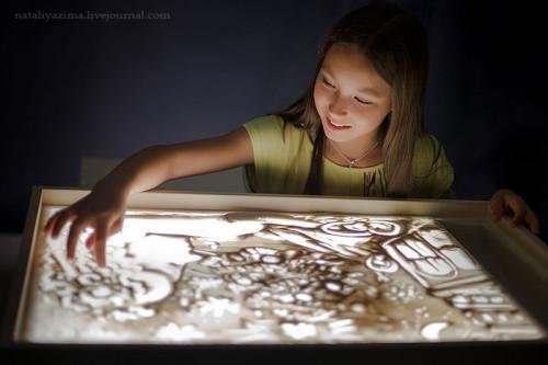 доска для рисования песком