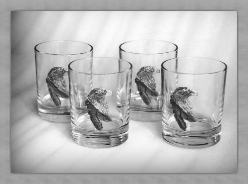 набор стильных стаканов